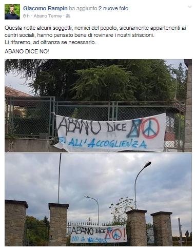 ABANO DICE NO, ALTRI SENTENZIANO DALL'ALTARE DEL LIVORE POLITICALLY-CORRECT - www.irog.it